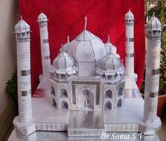 Taj Mahal Paper Model