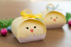 Easter Favor Boxes Treat Boxes Bunny and by FestivaPartyDesign