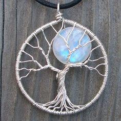 Jewelry Art - Rainbow Moonstone Tree by ethorart, via Flickr