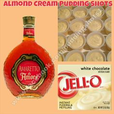 White Chocolate Snickerdoodle Pudding Shots