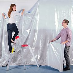 Use this White  Poly Vinyl - Flame Retardant White  poly vinyl for backgrounds, walls, and more.