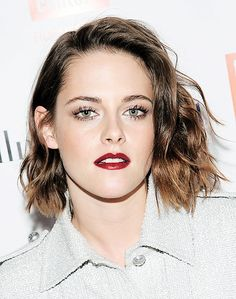 Kristen Stewart attends the 2016 Film Society Of Lincoln Center Luncheon at Scarpetta on January 5, 2016 in New York City.