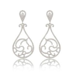 KP Sanghvi - available on Joolz! Stunning chandelier earrings.