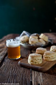 How to Make Flaky Biscuits and Sour Cream Cheddar Beer Biscuits Recipe