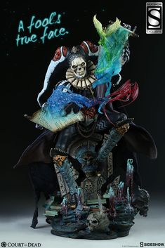 Sideshow Court of the Dead Malavestros Exclusive Statue Fantasy Horror