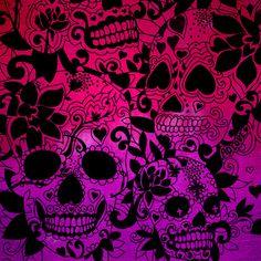 Skulls Art Print by Mad Love