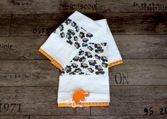 Asciugamani neonato / bimba / bambina 100% cotone di Smomlab