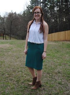 My St. Patrick's #OOTD { full outfit post at stripedflats.com }