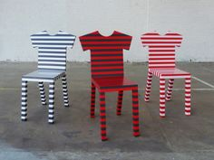 stripy chairs by mogg