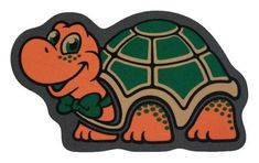 Felpudo sin fibras con una simpática tortuga!. Fictional Characters, Art, Nail Forms, Turtles, The Originals, Art Background, Kunst, Performing Arts, Fantasy Characters