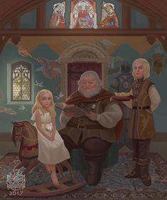 [NO SPOILERS] The Targaryens Circa 288 AC by Raymond Waskita