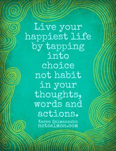pep talk, happiest life, action wise, choos, inspir, peptalk, choic habit, posters, live
