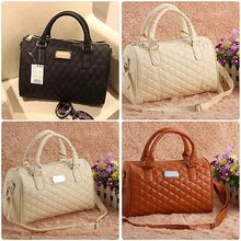 Women PU Leather Tote Shoulder Bags Hobo Handbags Satchel Messenger bag Purse(China (Mainland))