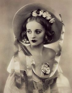 vintage everyday: The Beauty of Tallulah Bankhead