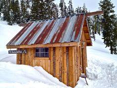 ski hut!