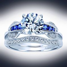 The color that you want, the style you must have.   Gabriel & Co. New York and Amour Jewellers.