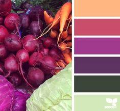 Design Seeds l produced palette Colour Pallette, Color Palate, Colour Schemes, Color Combos, Color Patterns, Design Seeds, Pantone, Color Stories, Color Swatches