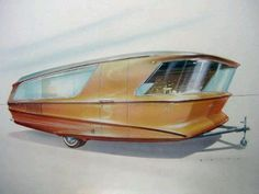 Mid-Century Modern: House Model X Boy, I'd love to find this trailer for sale!!!