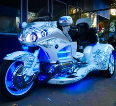 Honda Goldwing Trike. Custom Trikes, Custom Motorcycles, Cars And Motorcycles, Goldwing Trike, Motos Harley, Trike Motorcycle, Scooter Scooter, Harley Davidson Trike, Futuristic Motorcycle