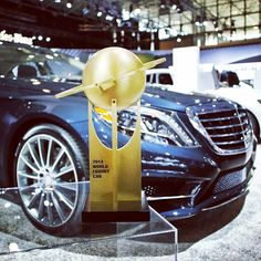 We are proud to announce the 2014 S-Class has won the prestigious World Luxury Car of the Year Award.  #NYIAS #SClass