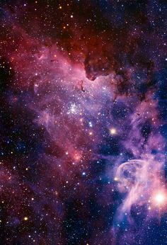 The Carina Nebula – via European Southern Observatory The Carina Nebula is a region of massive star formation in the southern skies. This panorama of the Carina Nebula was taken in infrared light using the HAWK-I camera on ESO's Very Large Telescope.