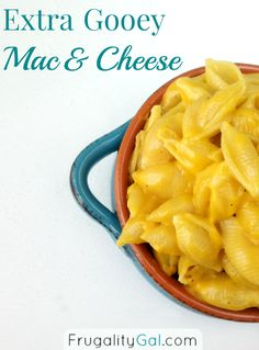 This is the best mac and cheese I've ever made. So easy and super gooey and cheesy.