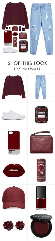 """""""You're giving me a million reasons to let you go"""" by katelyn-love1 ❤ liked on Polyvore featuring Monki, Vans, Pantone, Acne Studios, Lime Crime, Whistles, NARS Cosmetics, Bobbi Brown Cosmetics and katelynfashion"""