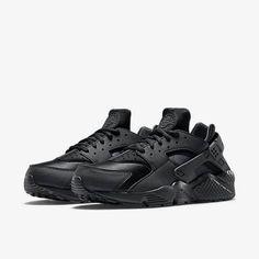 Nike Air Huarache Blackout. Available now.  http://ift.tt/1SMO1yo
