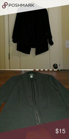 Black blazer Metaphor black blazer 3/4 sleeve Metaphor Jackets & Coats Blazers