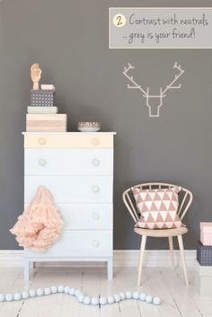 How to Decorate with Pastels | Scandi Kids Bedroom