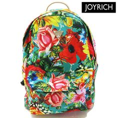 Flowers backpack japan joyrich