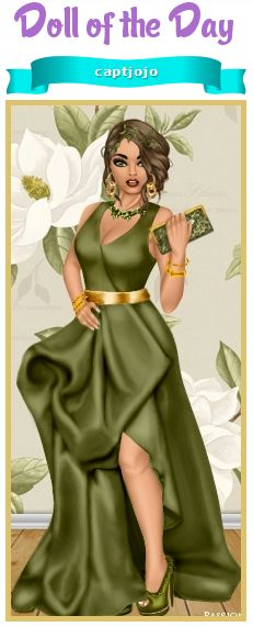 Look at this amazing green gown! DOTD 2/19/14 Dress Up Games | Diva Chix: The…