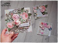1 Kit - 3 Cards Tutorial - My Creative Scrapbook LE kit