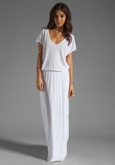 PRETTY WHITE MAXI DRESSES FOR THE SUMMER | Its always, Summer and ...