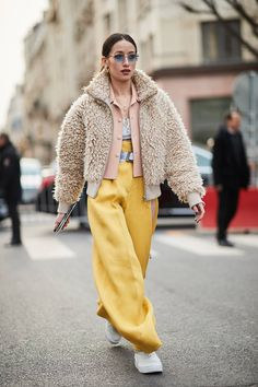 The Latest Street Style From Paris Fashion Week | Who What Wear