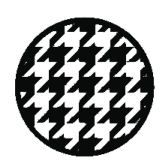 Houndstooth and Chevron Circles