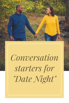 Conversation starters to help you and your spouse connect on date nights! For more tips on marriage check out: www.onlygirl4boyz.com