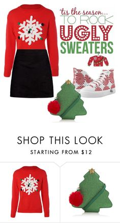 """snowflake sweater"" by janesmiley ❤ liked on Polyvore featuring George and Boohoo"