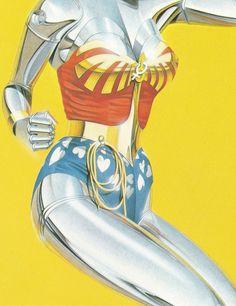 "kruma: ""Hajime Sorayama, 1984 """