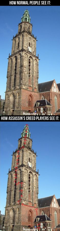 9GAG - Assassin's Creed Perspective