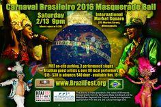 Eventbrite - BrazilFest MN - Carnaval Brasileiro of the Twin Cities presents Carnaval Brasileiro 2016 Evening Masquerade Ball - Saturday, February 2016 Masquerade Ball, Artist, Seaside, Brazil, Mask Party, Artists