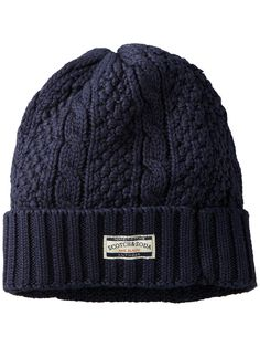 Cable knit beanie | Bonnets | Men's Clothing at Scotch & Soda