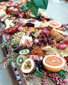 41 new Ideas fruit display wedding wine Fruit Display Tables, Fruit Display Wedding, Fruit Displays, Catering Display, Catering Ideas, Catering Buffet, Catering Food, Food Platters, Cheese Platters