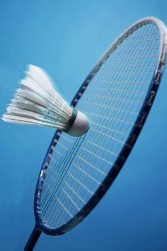 Badminton; love playing with all the kids