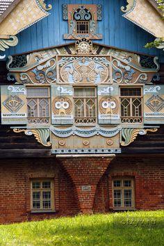 Талашкино, Фленово Russian Architecture, Historical Architecture, Beautiful Architecture, Beautiful Buildings, Art And Architecture, Architecture Details, Beautiful Homes, Unusual Homes, Window Design