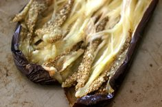 Mutabbal – Middle Eastern Eggplant and Tahini Dip – for the love of yum Middle East Food, Middle Eastern Recipes, Tahini Dip, Middle Eastern Restaurant, Keto Recipes, Cooking Recipes, Full Fat Yogurt, Eggplant Recipes, Tray Bakes