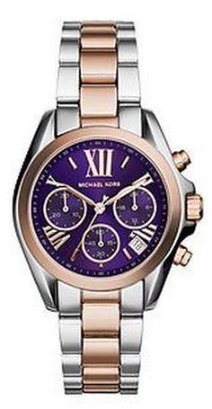purple face Michael Kors watch  http://rstyle.me/~2XsDe