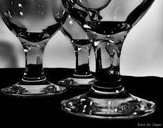 B/W glass stems