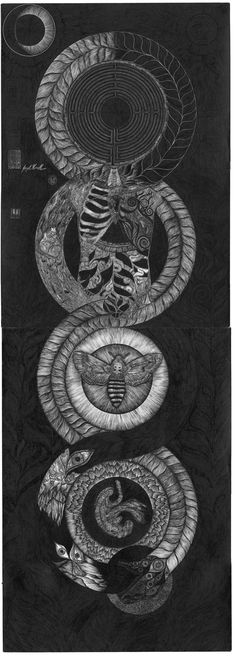 Ouroboros of Life and Death by ~labornthyn on deviantART