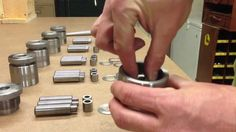 Coin Ring Center Punch Tool
